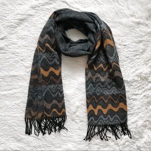 Nordstrom Gray Thick Scarf